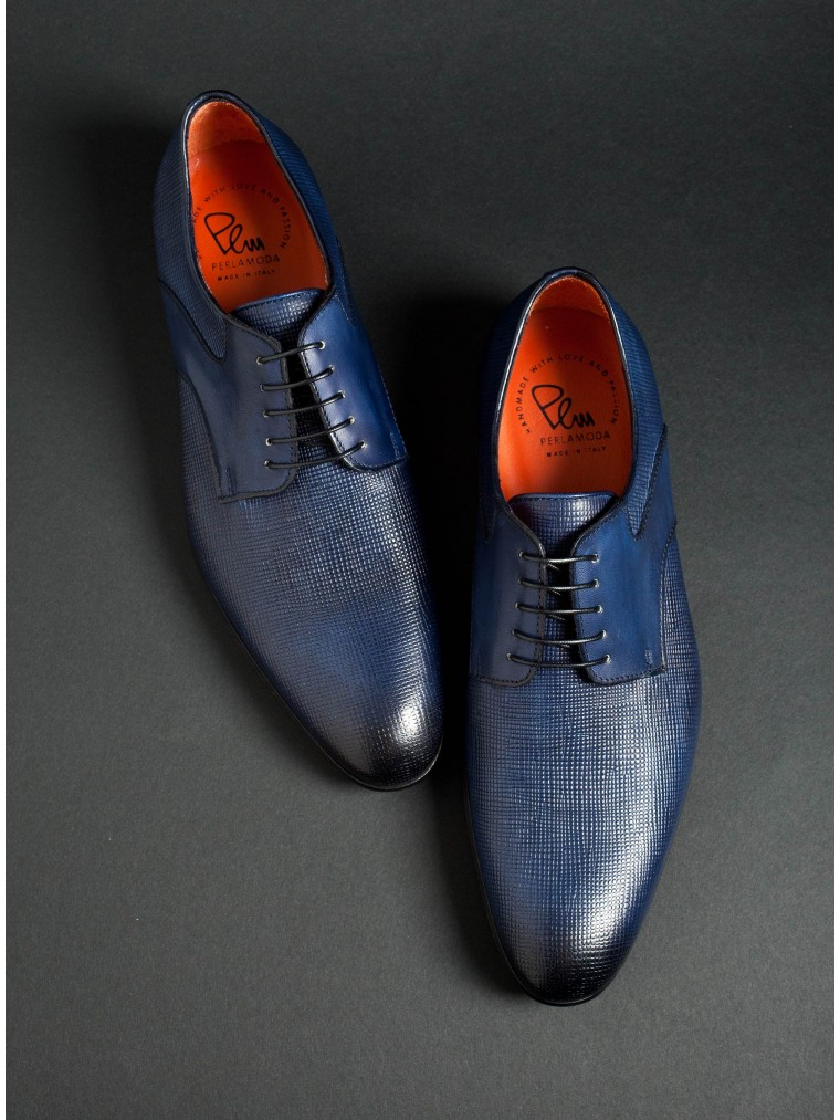 Per La Moda Shoes-Blue