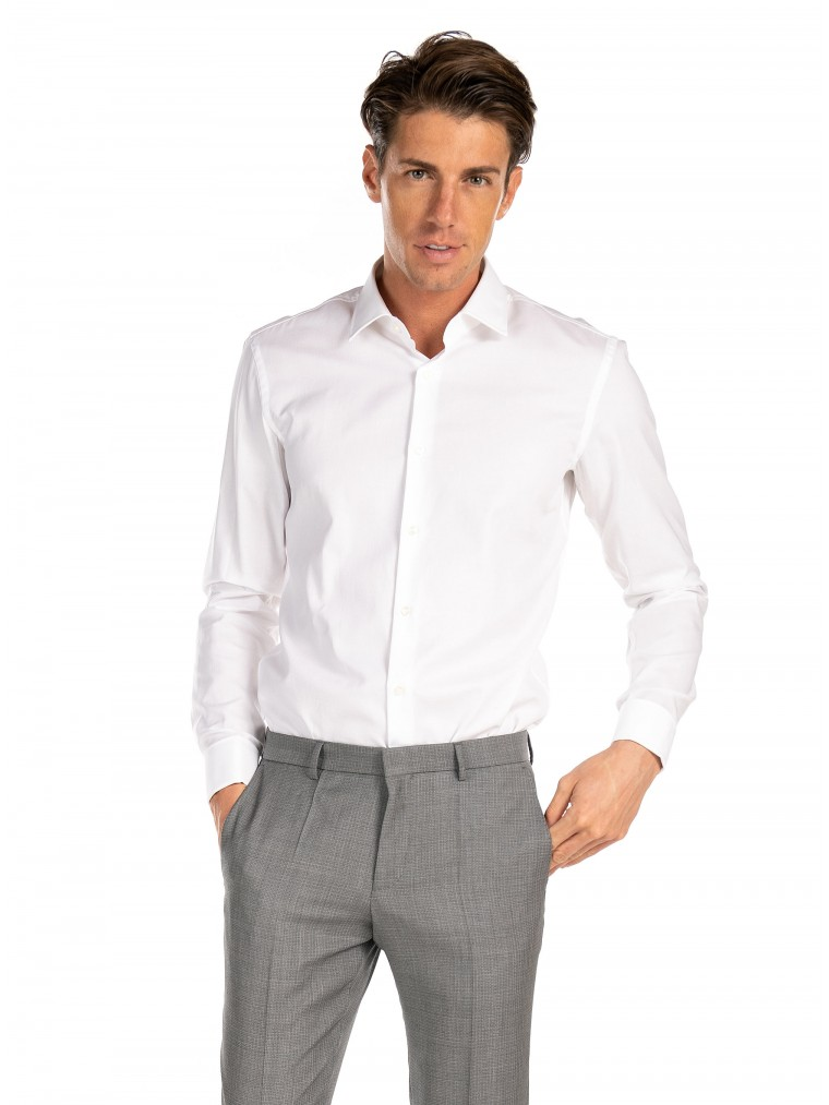 Boss Shirt Jacques-White
