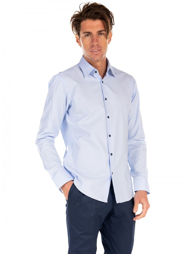 Boss Shirt Ganos-Light Blue
