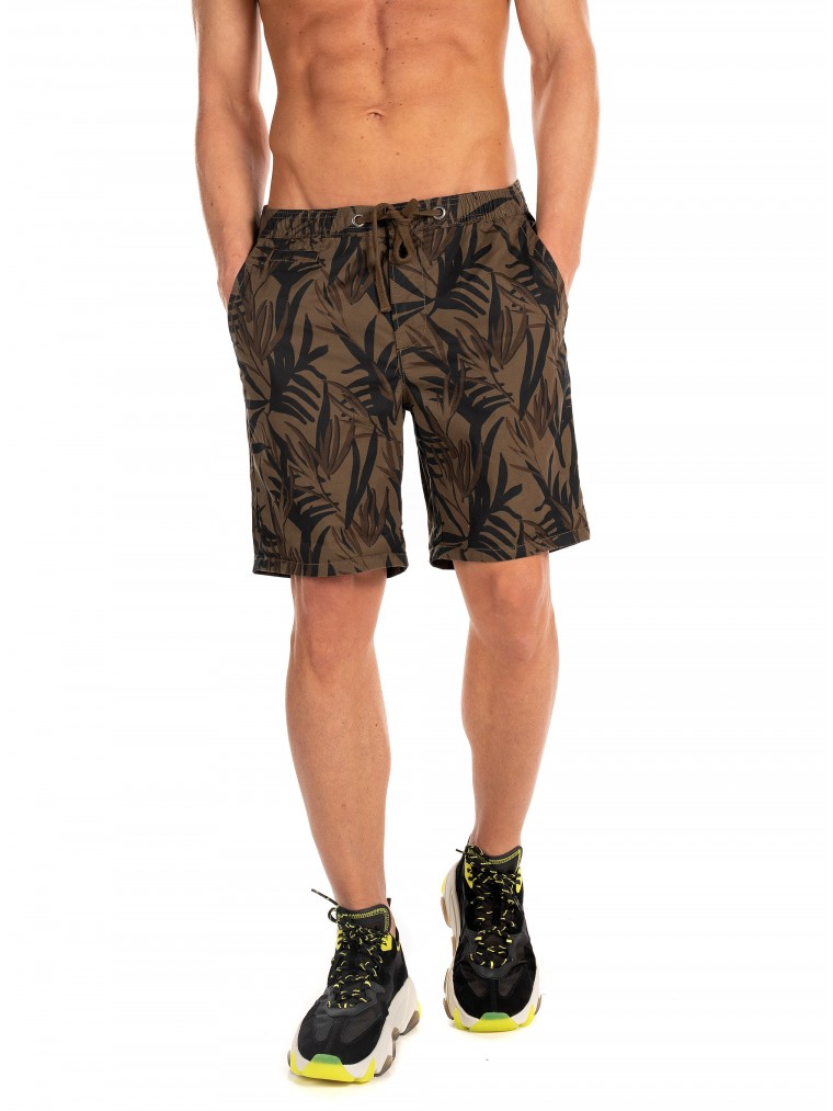 Superdry Sunscorched Chino Shorts-Olive