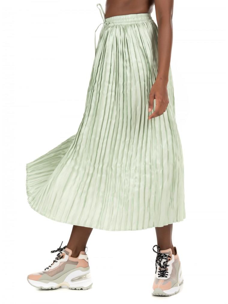 Only Skirt Liva-Aquamarine
