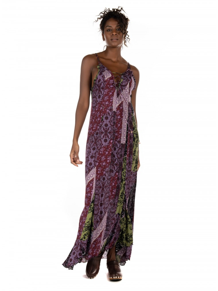 Free People Work Of Art Maxi Dress-Printed