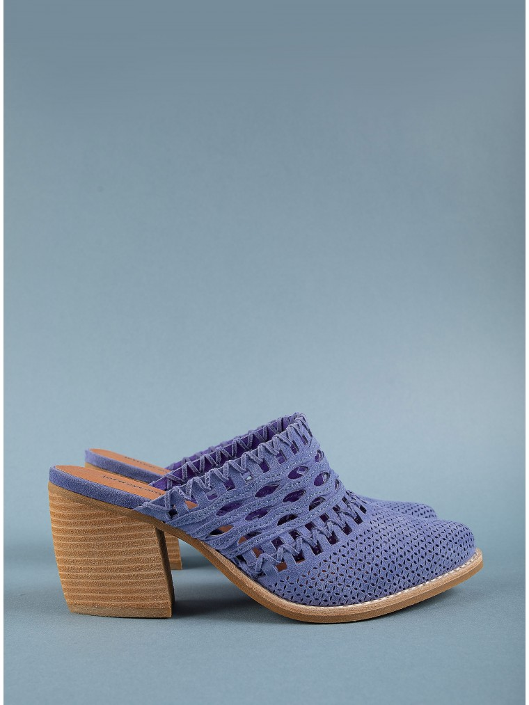 Jeffrey Campbell Mules Favela-Royal Blue