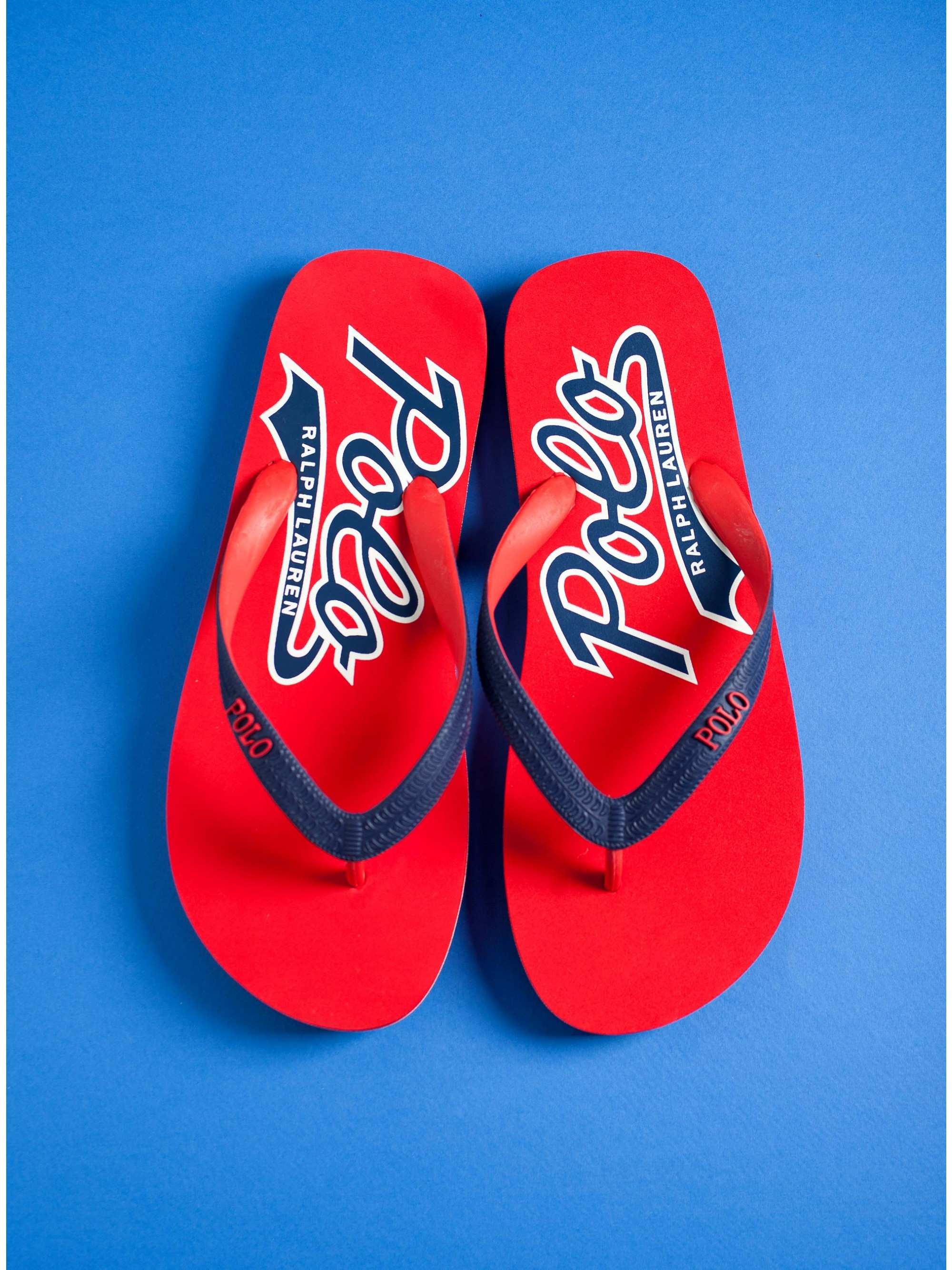 4ce4c771bce Home  Polo Ralph Lauren Flip-Flops WhitleburyII-Sn-Csl-Red. Tap to expand