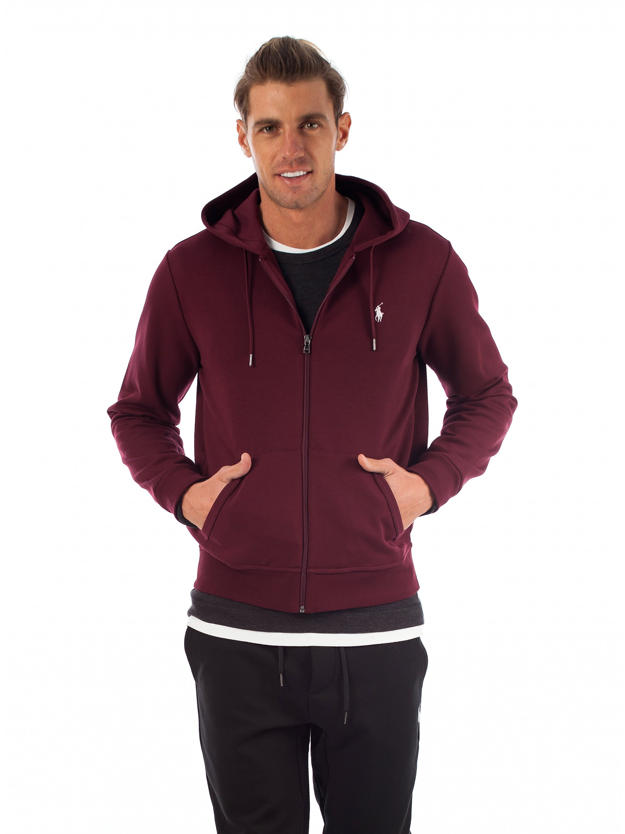 716b064d87c76 Home · Fall-Winter 2018-19  Polo Ralph Lauren Zip Hoodie-Bordeaux. Tap to  expand · Tap to expand