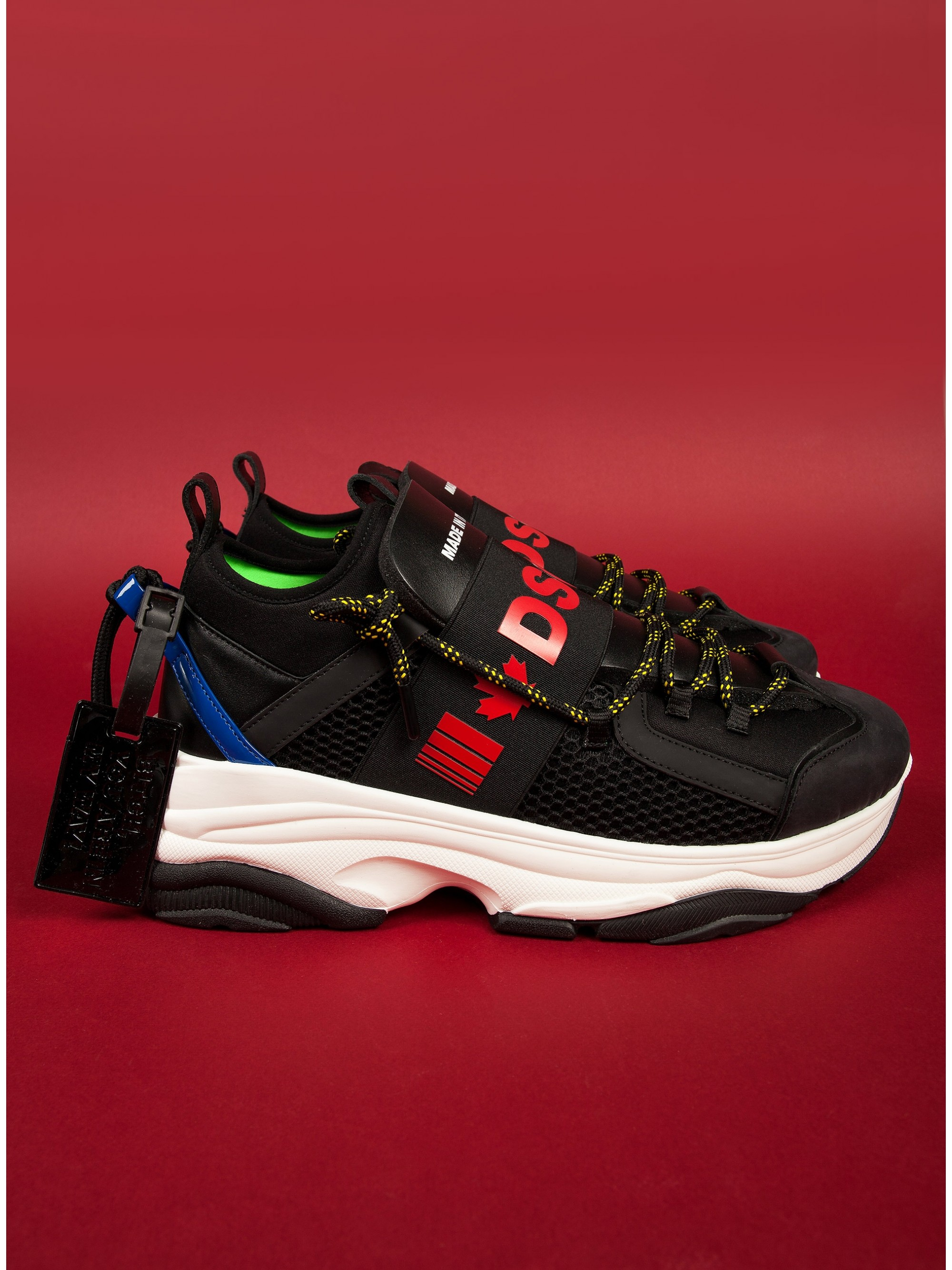 Dsquared Sneakers D-Bumpy One-Black