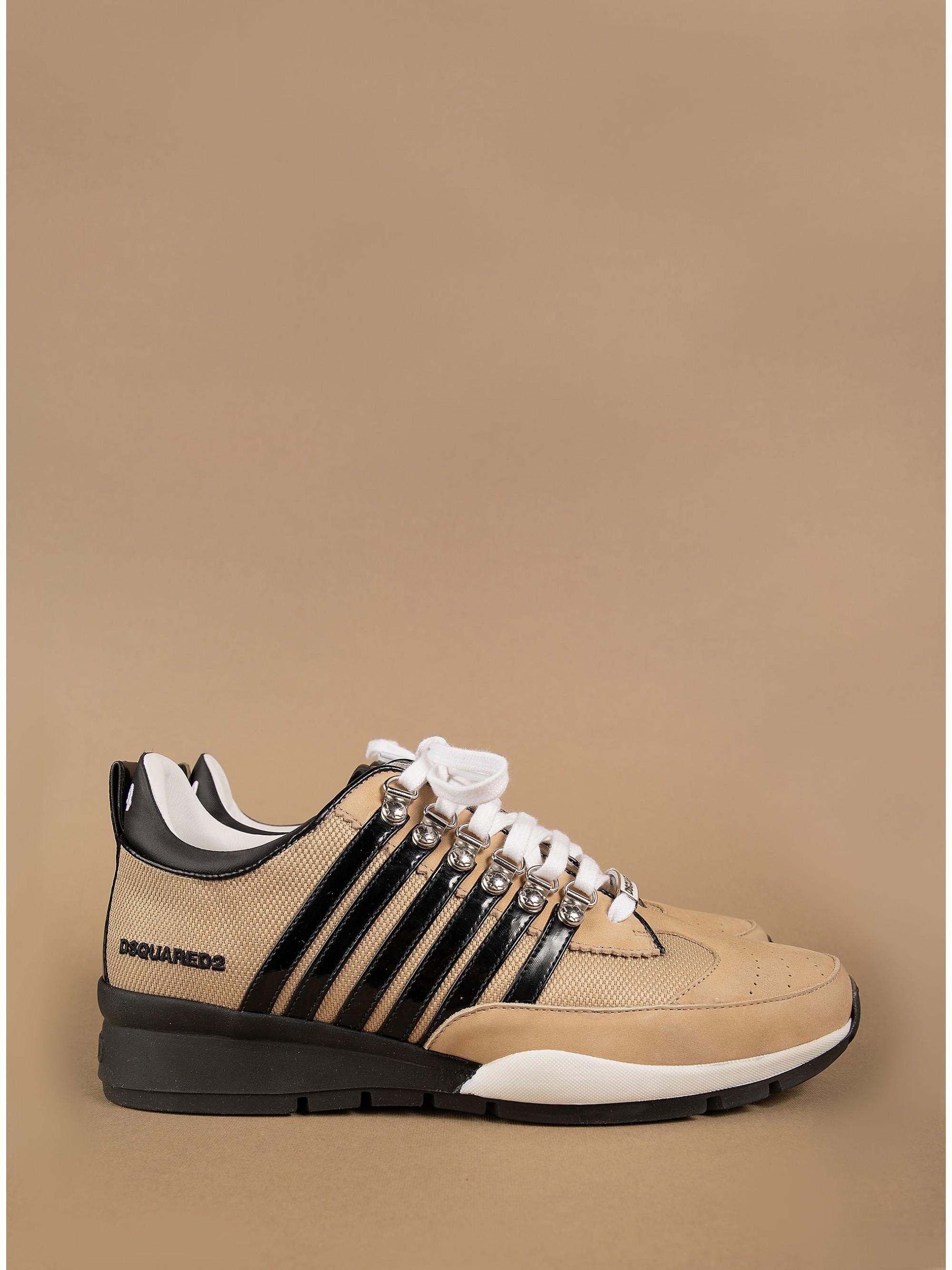 Dsquared 251 Sneakers-Beige - Footwear