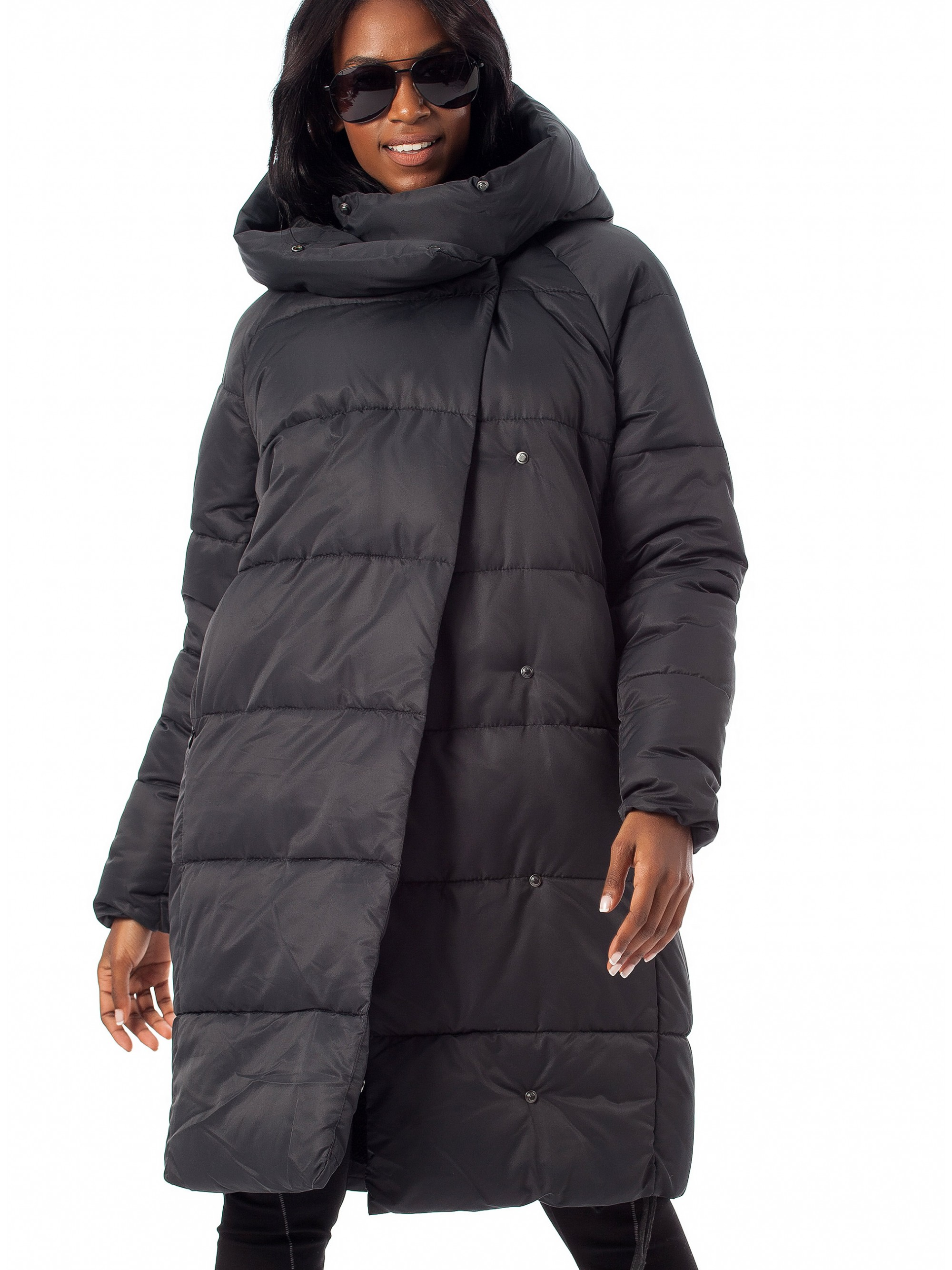8971d0c4b78f Only Quilted Long Jacket-Black - Jackets   Coats - Tops - Women