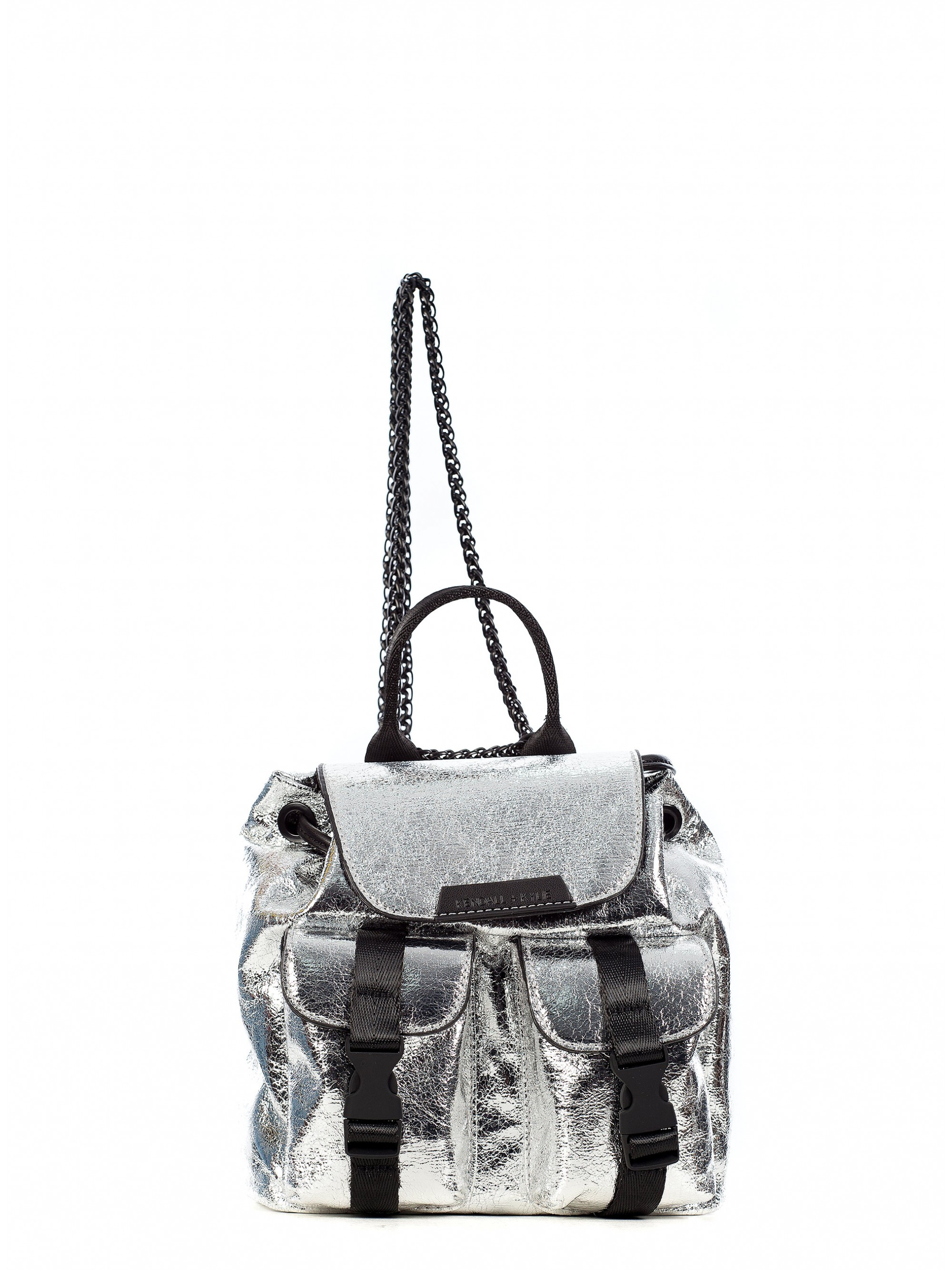 Home  Kendall + Kylie Mini Backpack Poppy-Silver. Tap to expand 9b08c6f994