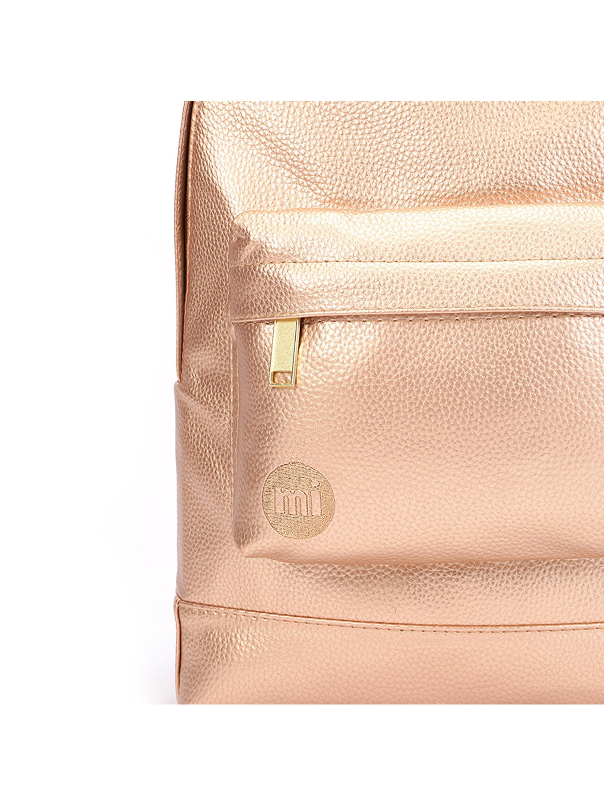 0d655c422e3a Mi-Pac Gold Backpack - Tumbled Metallic Blush-Bronze