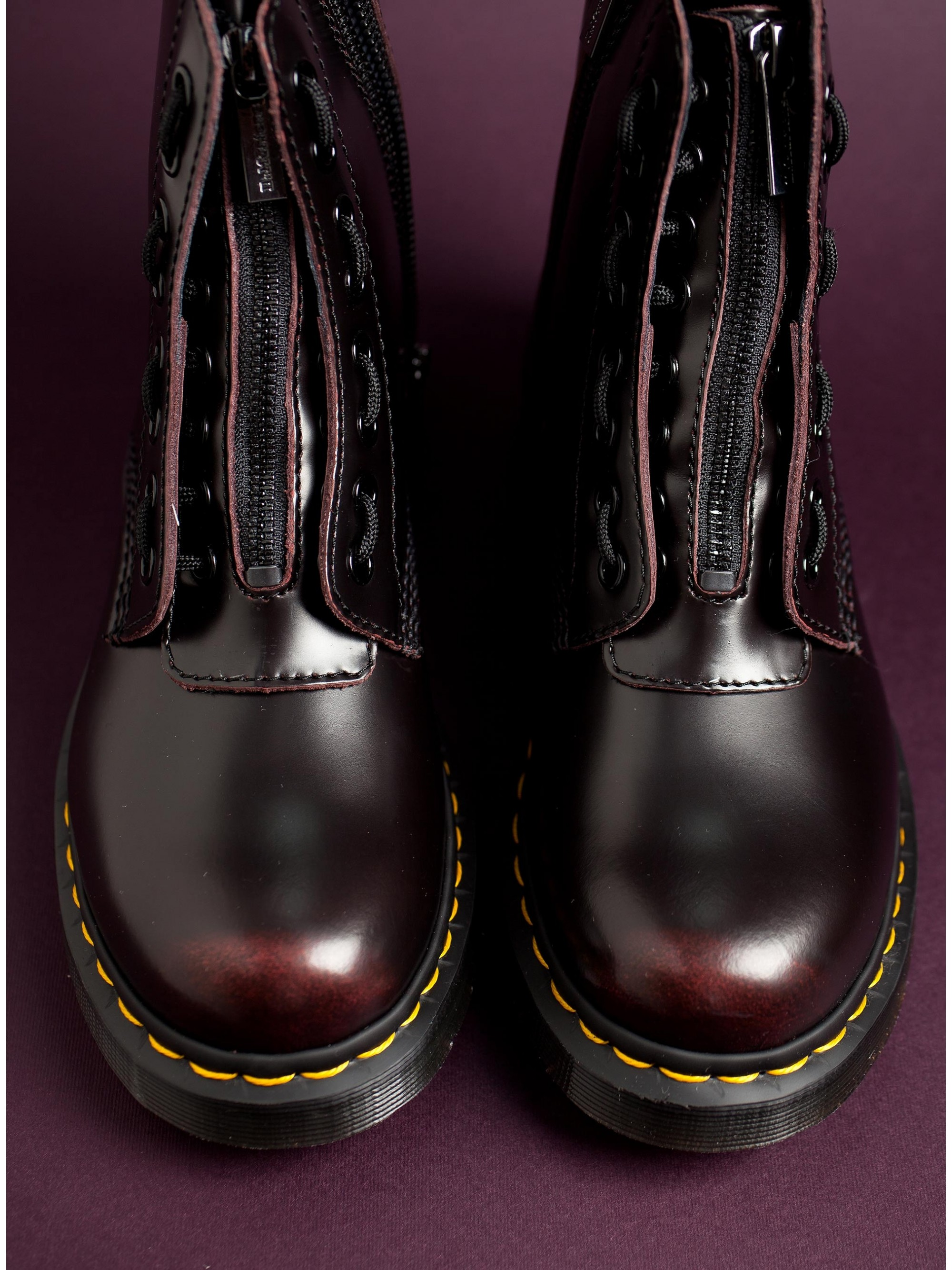 755a5c1a7971f ... Dr Martens 1460 Pascal Front Zip 8-Eye Boots-Bordeaux. Tap to expand ·  Tap to expand · Tap to expand