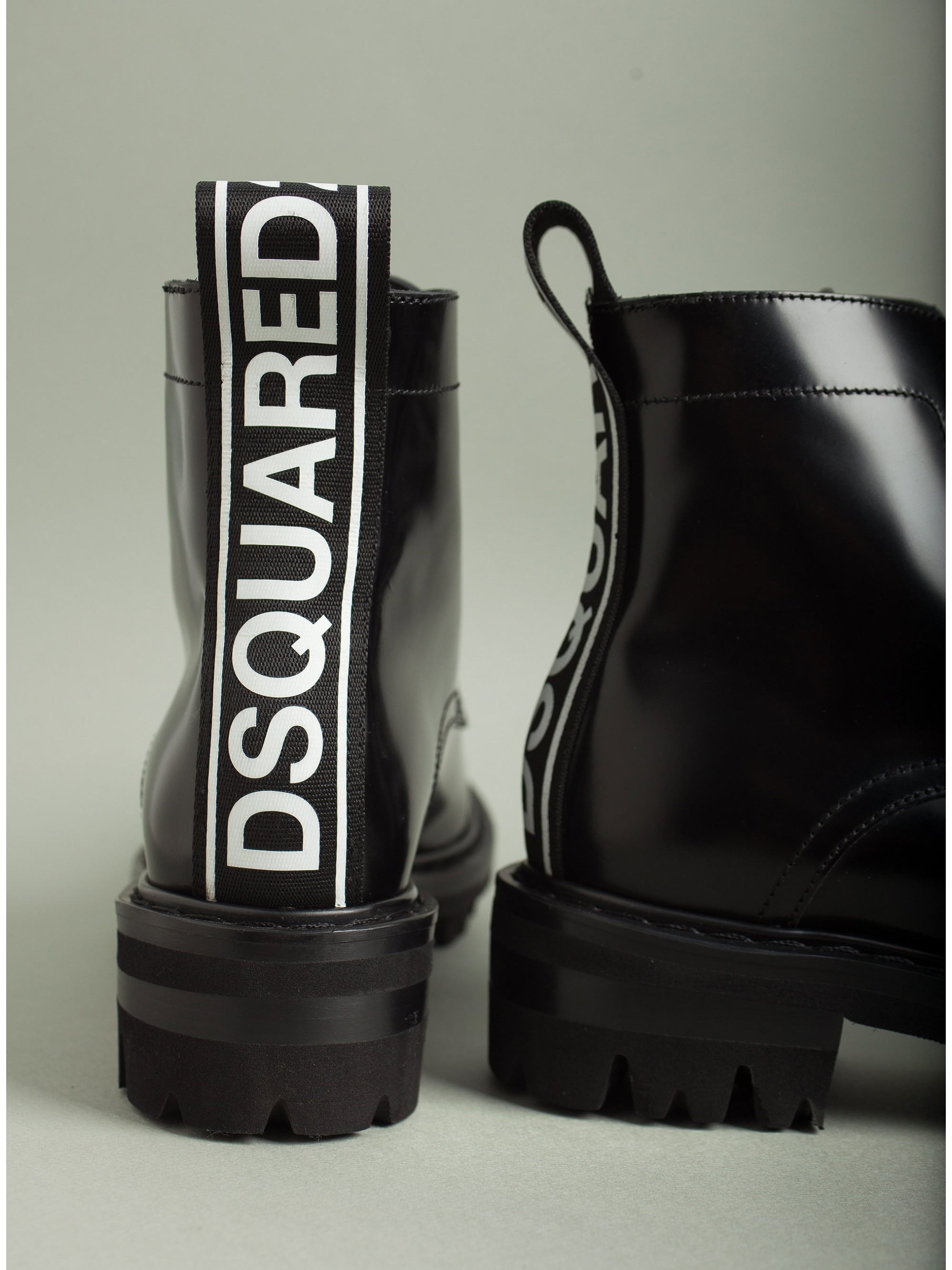 Dsquared Ankle Boots-Black