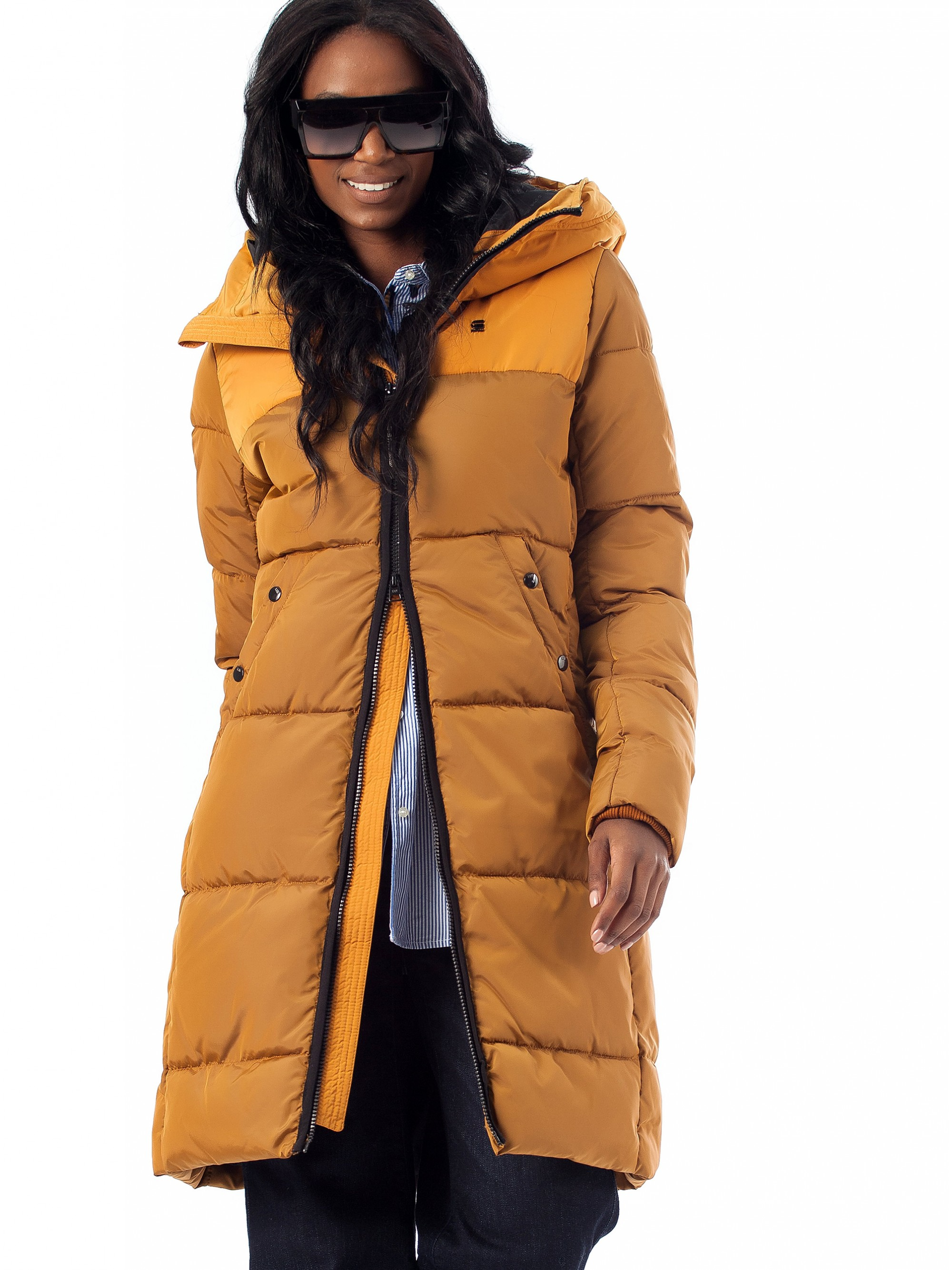 5192ce73efc Home; G-Star Jacket Whistler Hooded Quilted Slim-Mustard. Tap to expand