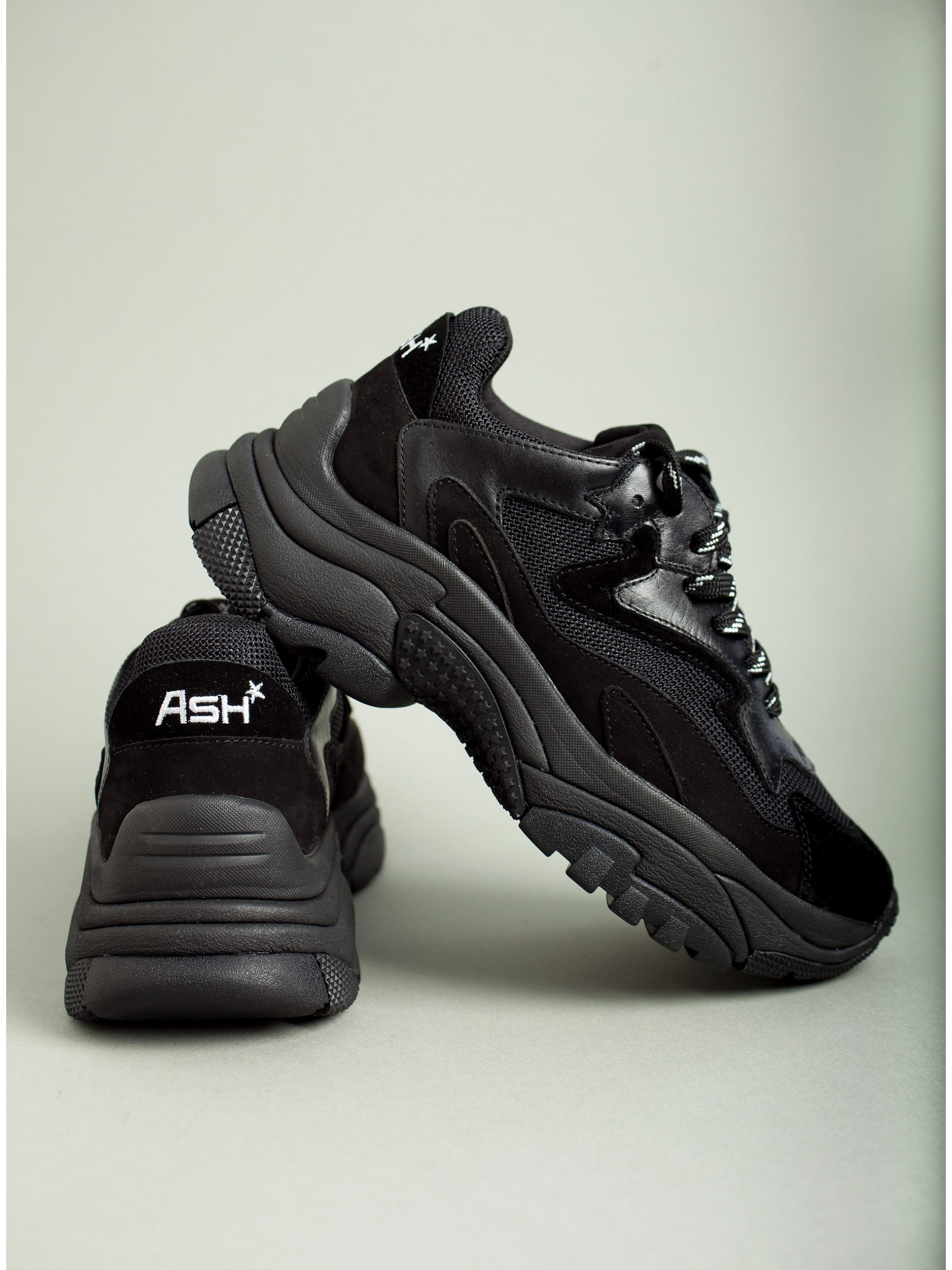 Ash Sneakers Addict Baby Soft-Black