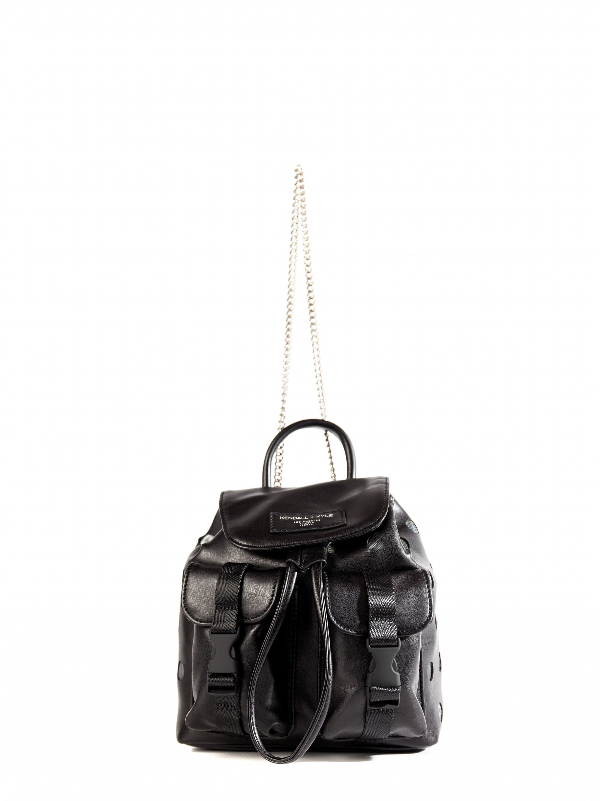 Home  Kendall + Kylie Poppy Small Backpack-Black. Tap to expand · Tap to  expand 34de683334