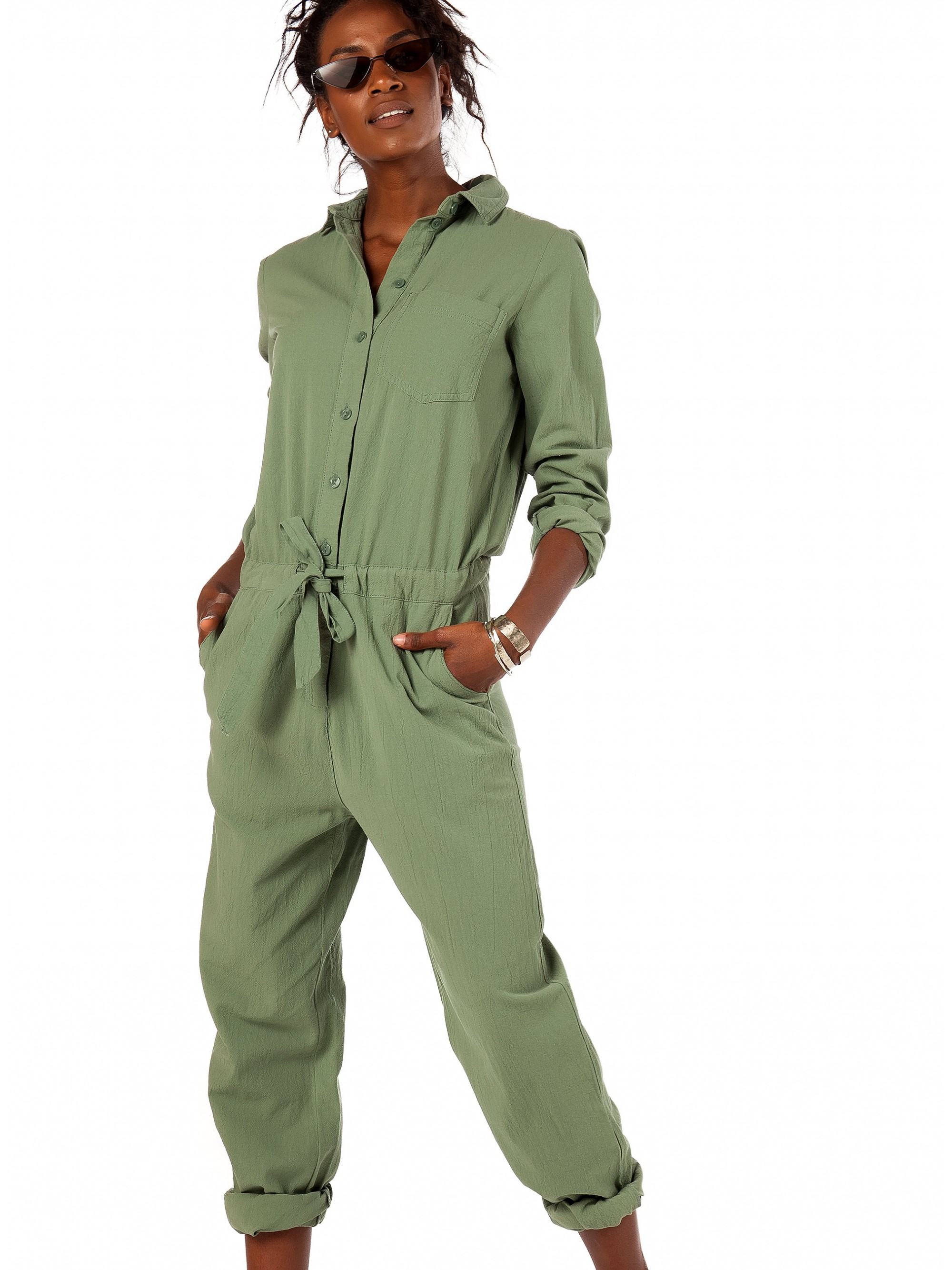 sale retailer df763 0be8b Vero Moda Jumpsuit Foley-Green