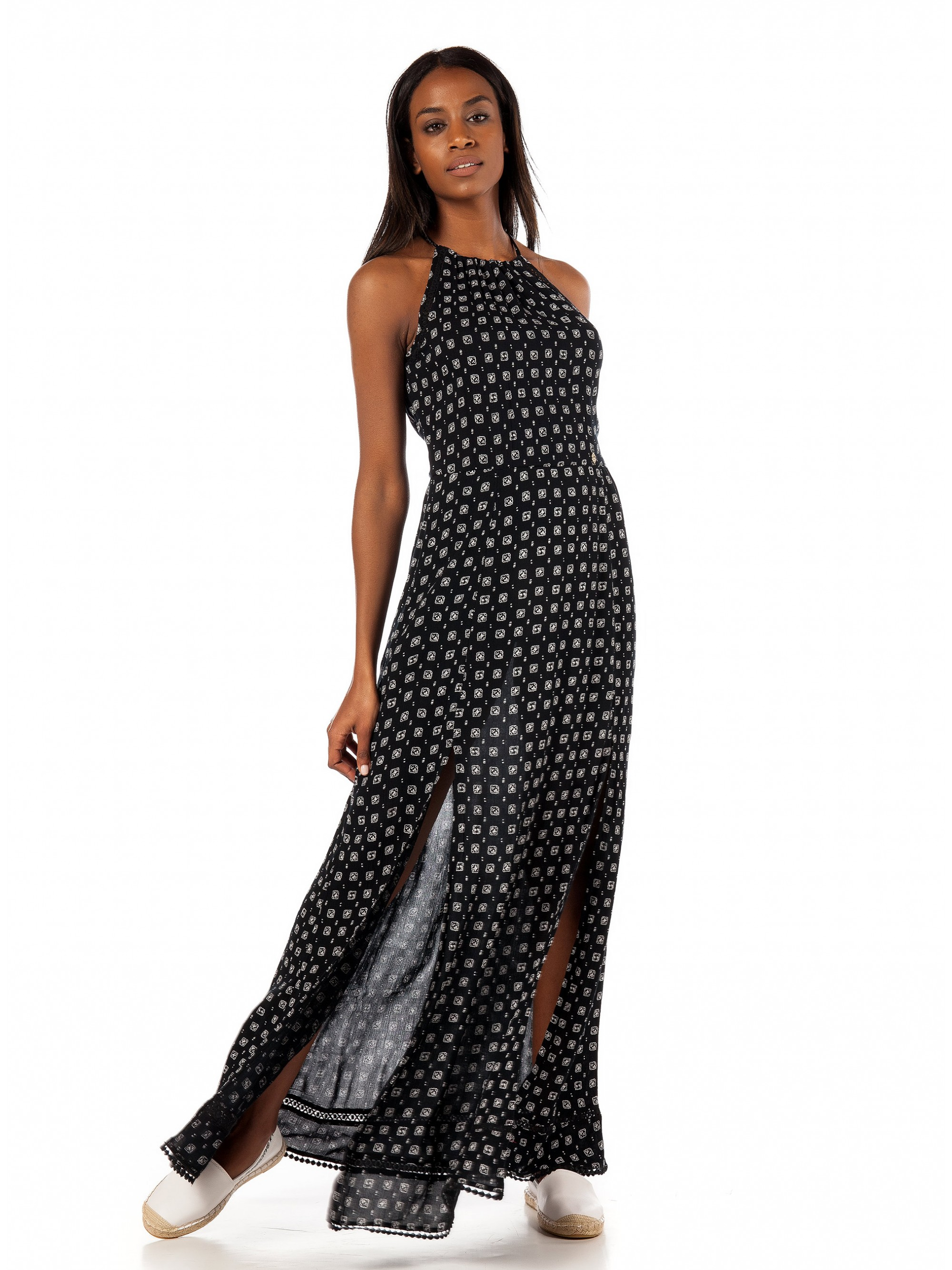 5c6109aa1 Superdry Boho Maxi Dress-Blue