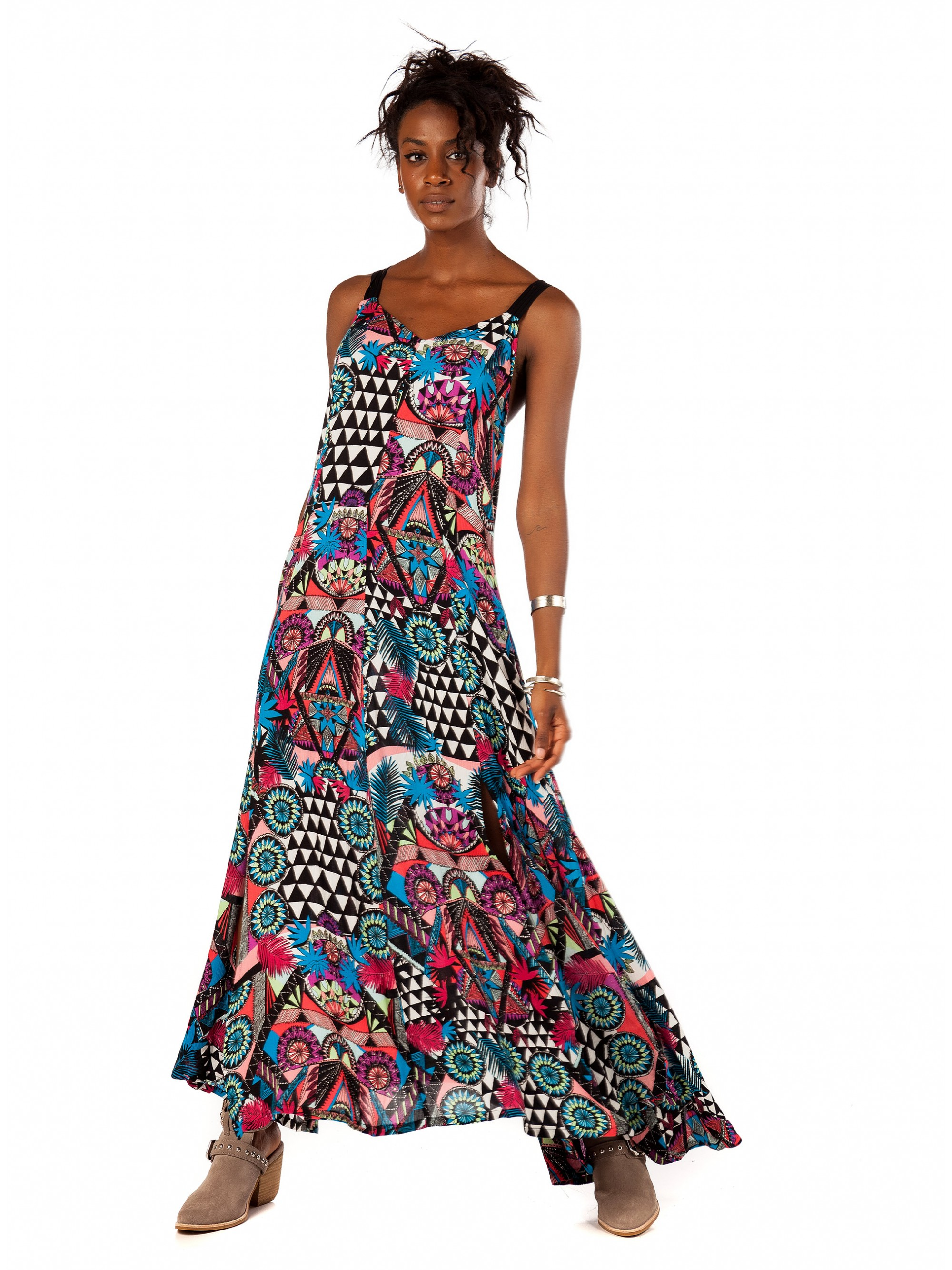 8836ee34e Superdry Carissa Macrame Maxi Dress-Printed