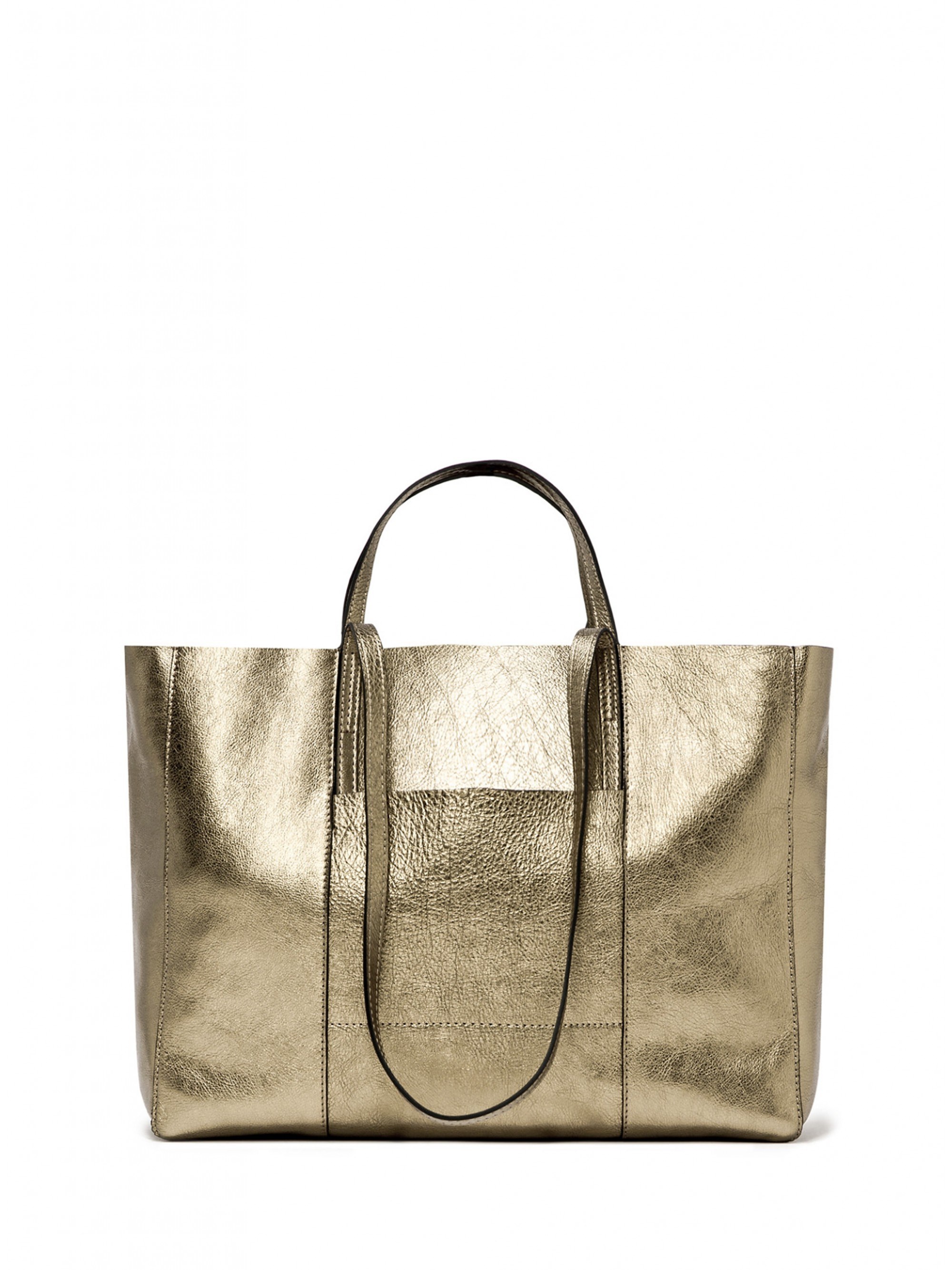 2431172b5c6 Home; Gianni Chiarini Superlight Shopping Bag-Gold. Tap to expand