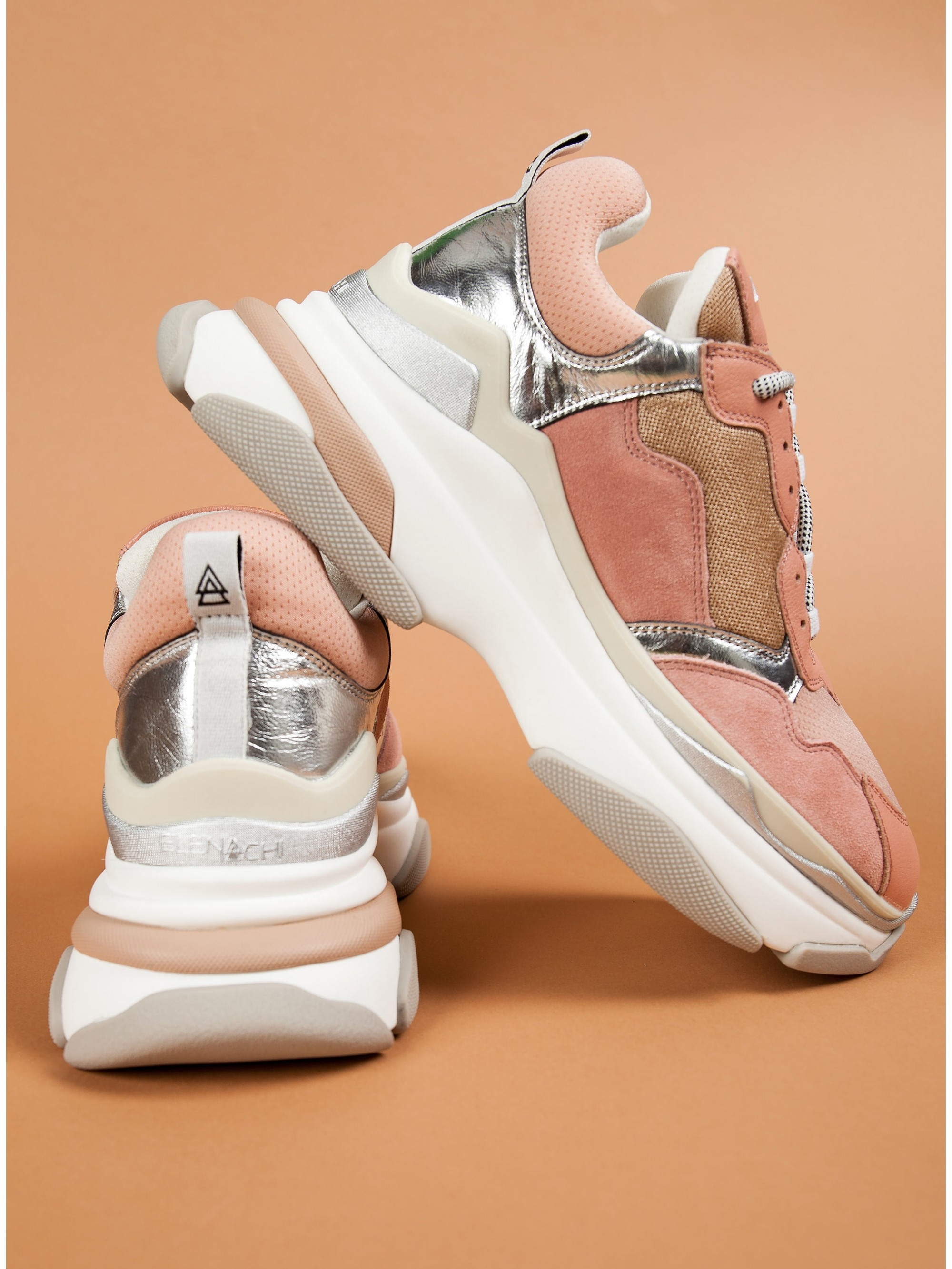 Elena Iachi Sneakers Touch-Pink