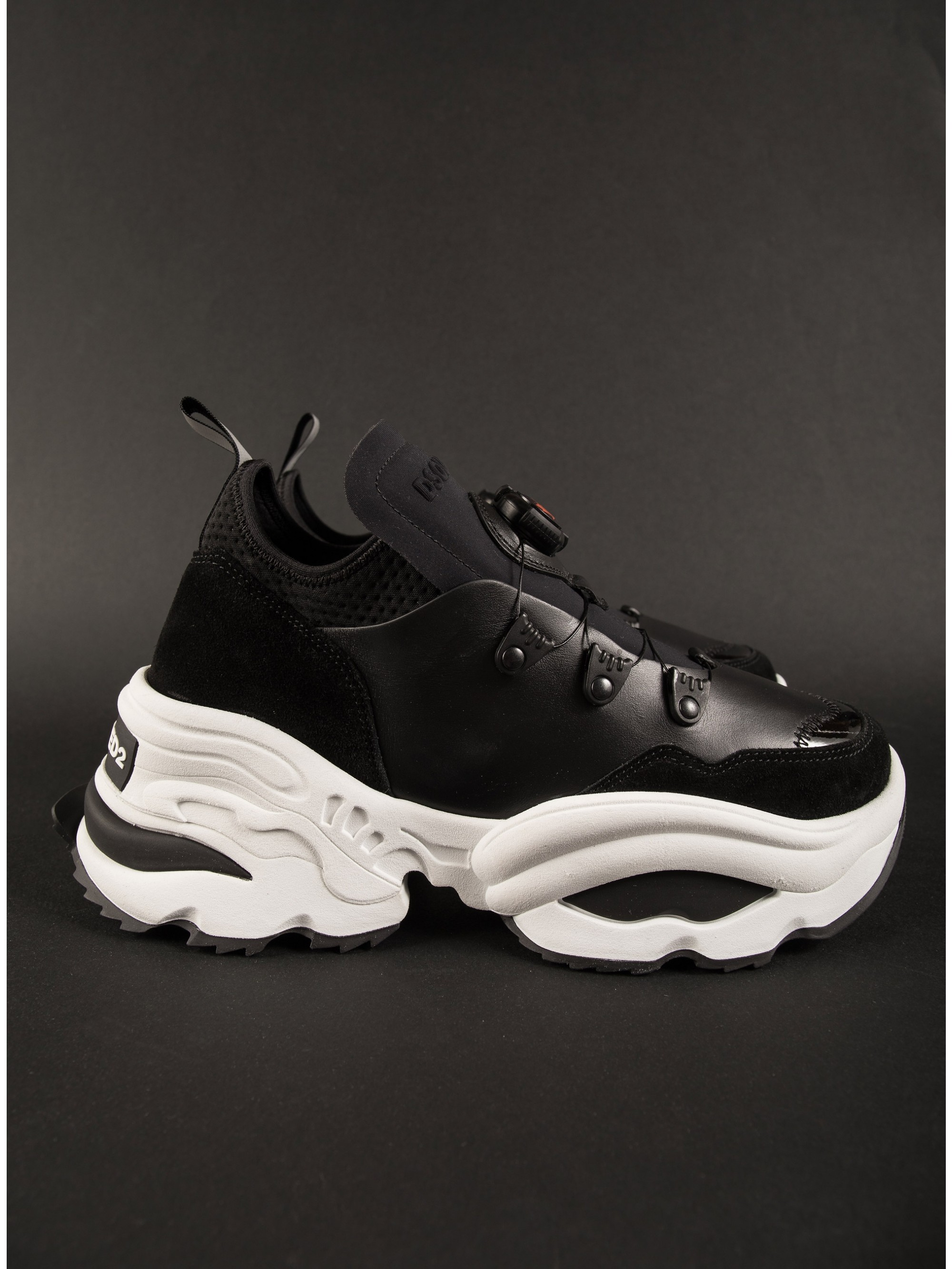 Dsquared Giant Sneakers-Black