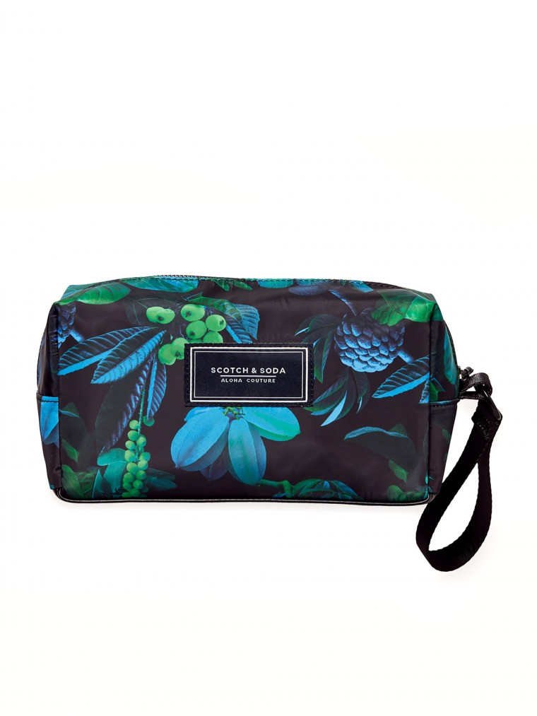 Scotch & Soda Wash Bags-Blue