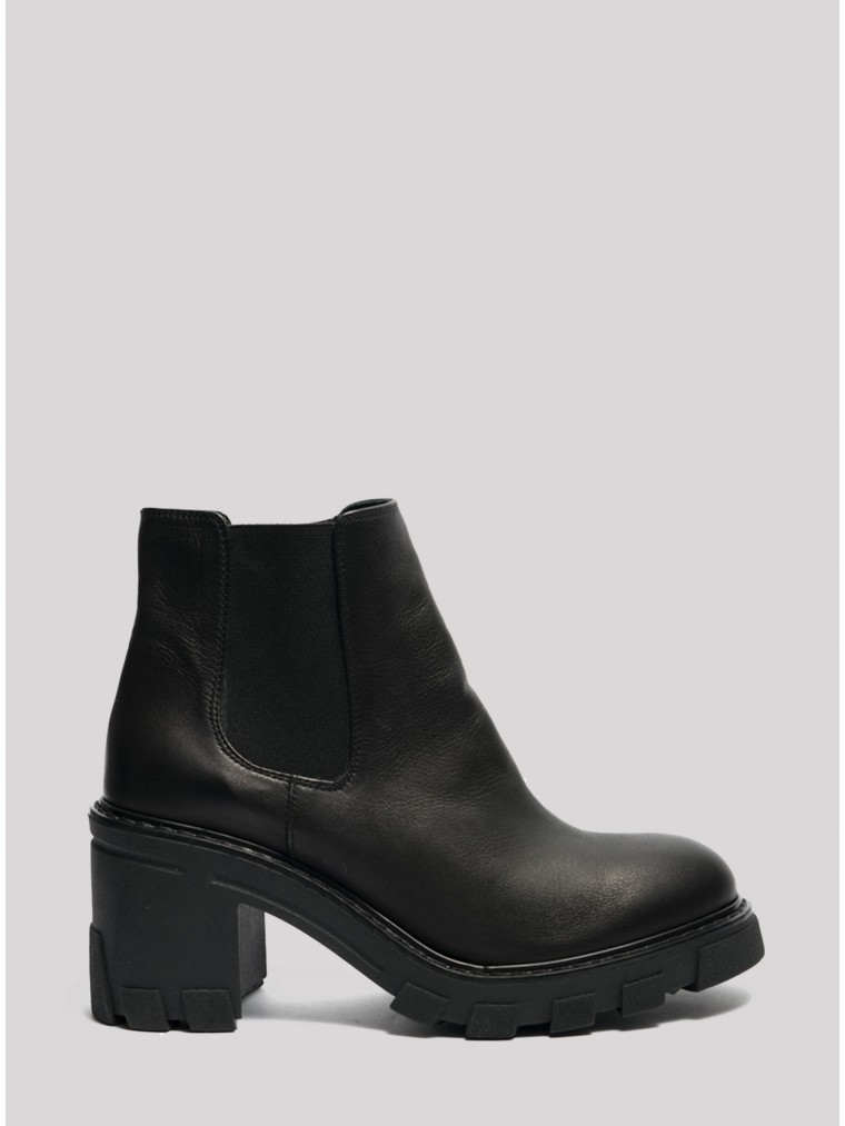 Glamazons Ankle Boots Bucharest-Black