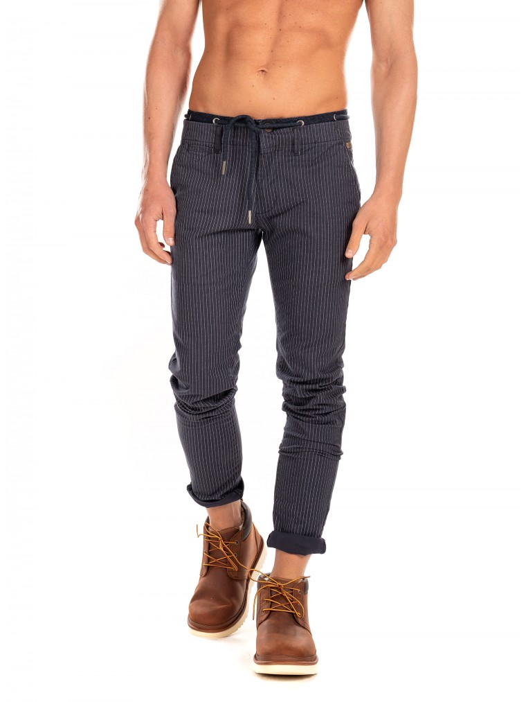 Petrol Pants-Blue