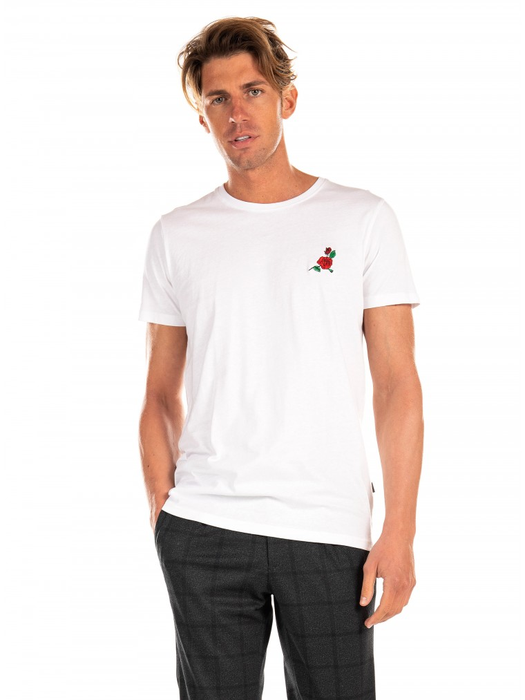 Solid T-Shirt Florencio-White
