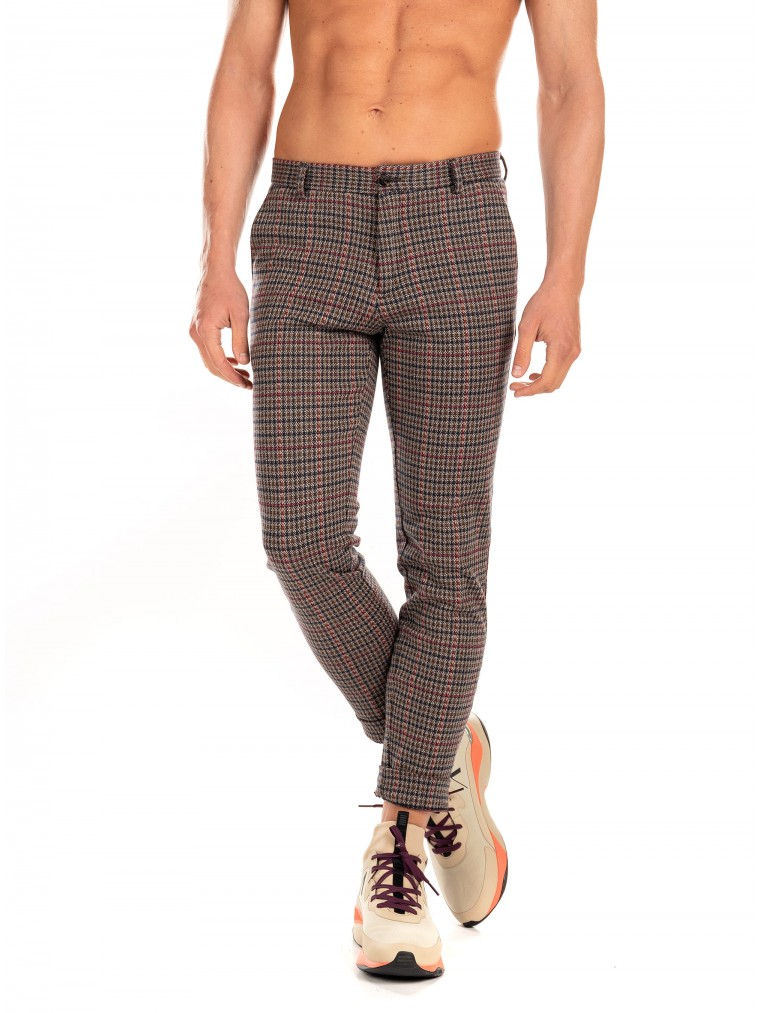 Scotch & Soda Pants Mott-Tartan