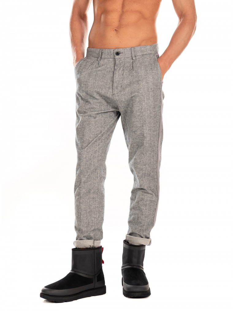Dstrezzed Pants-Grey