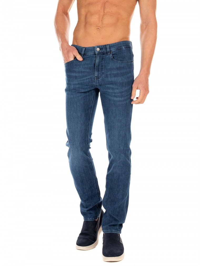 Boss Jeans Delaware3-1+-Dark Aged Denim