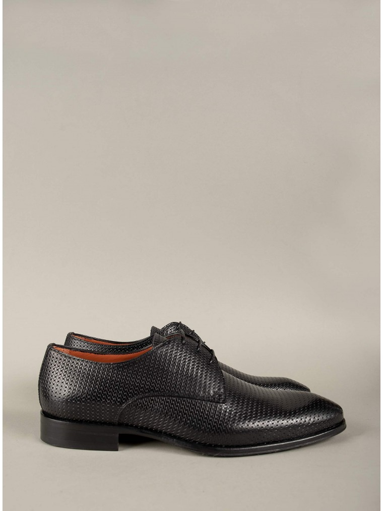 Per La Moda Shoes-Black