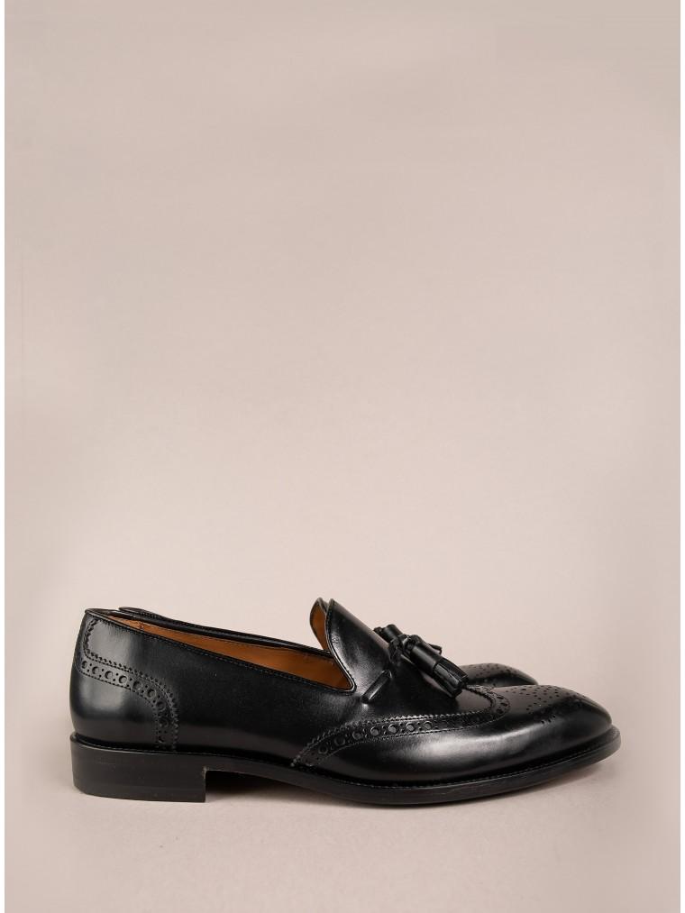 Per La Moda Shoes-Black