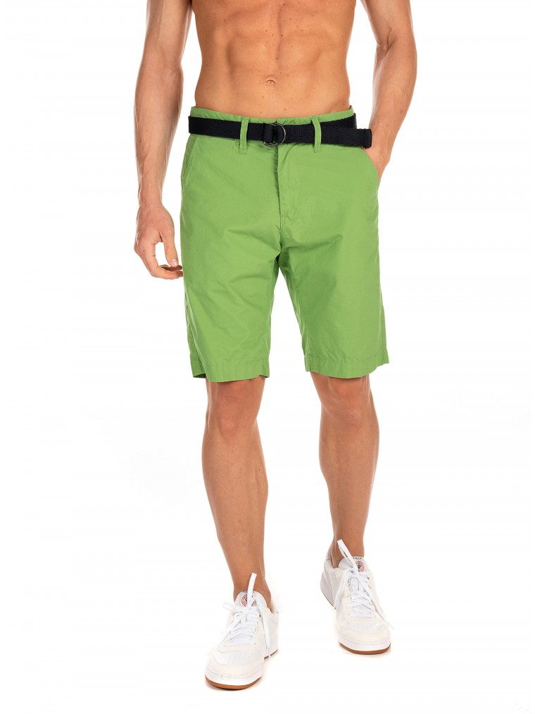 Petrol Shorts-Green