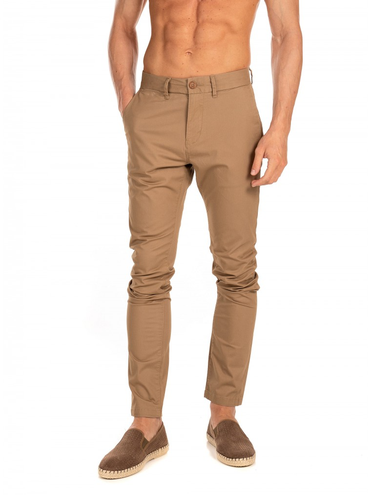 Superdry Edit Chino Pants-Beige