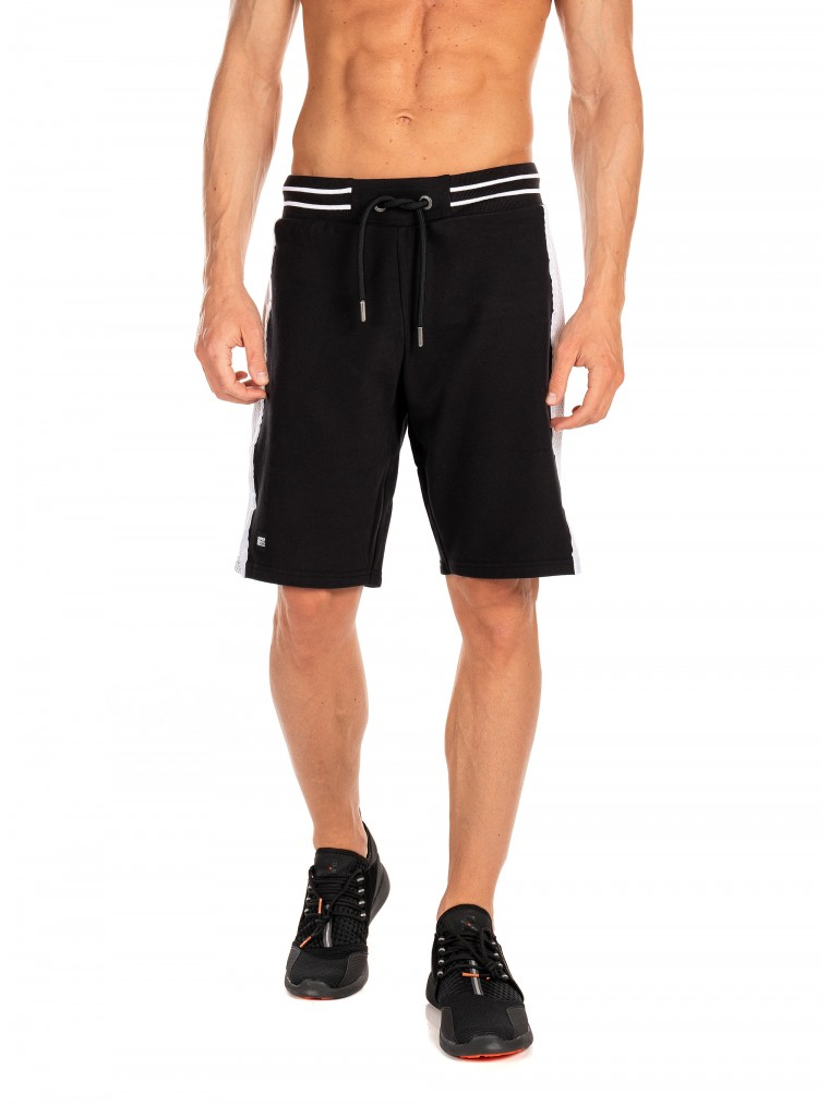 Superdry Future Mascot Airtex Shorts-Black