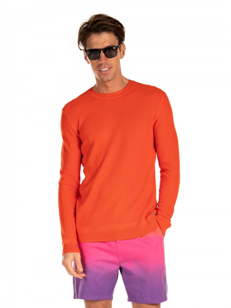Superdry Edit Supima Cotton Knit-Red