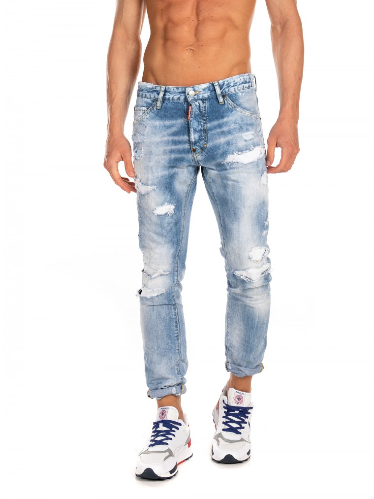 Dsquared Jeans Cool Guy-Light Aged Denim