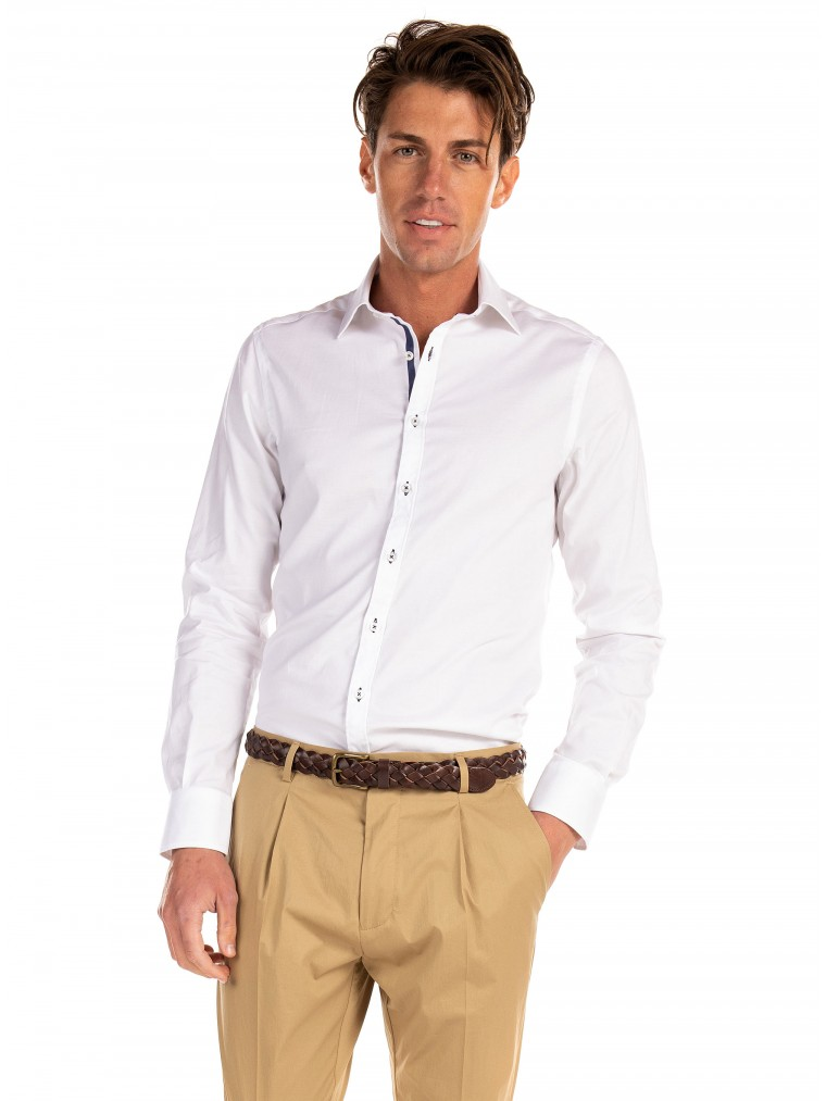 Belmonte Shirt-White