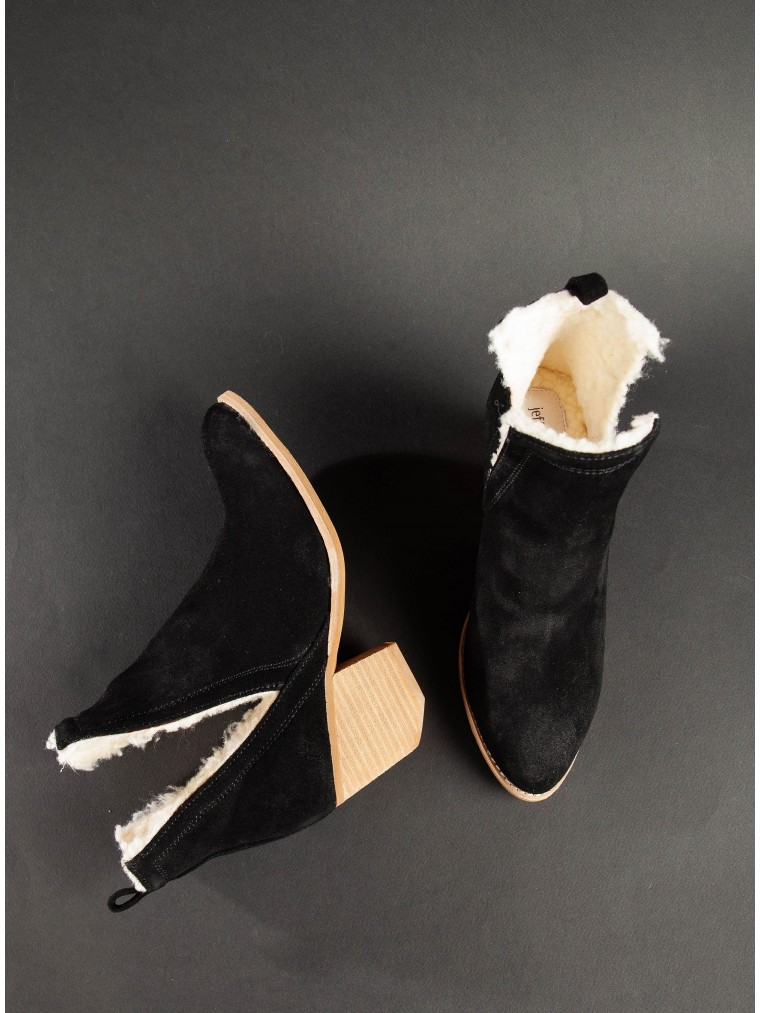 Jeffrey Campbell Ankle Boots Orwell-Sh-Black