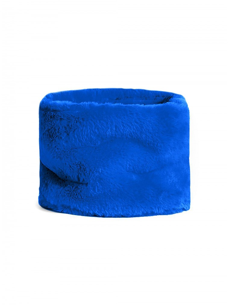 OOF Faux Fur Collar-Royal Blue