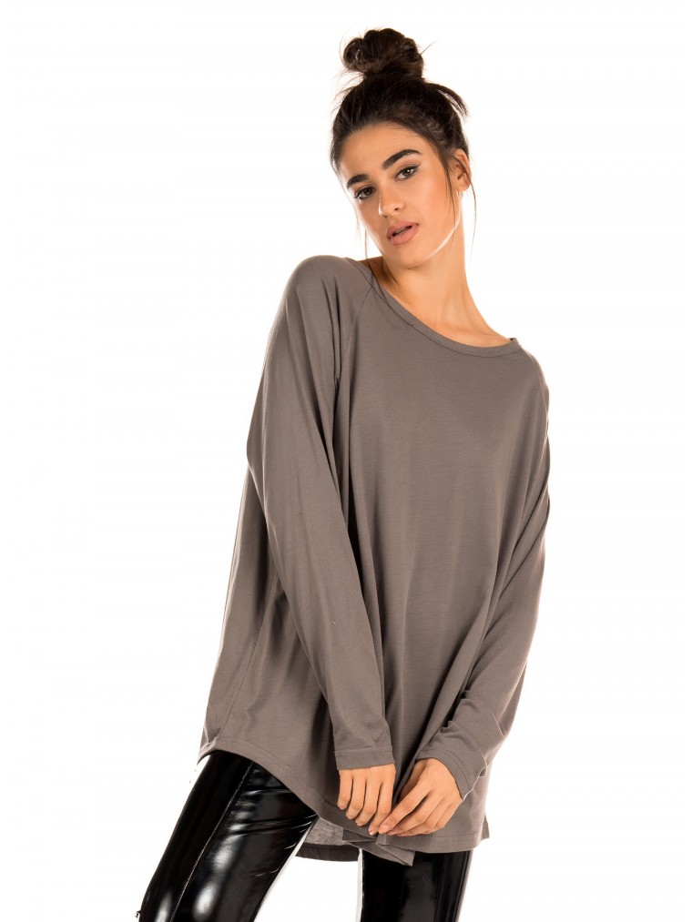 Four Minds Blouse-Grey