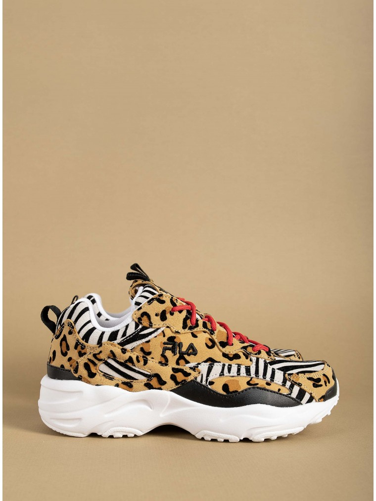 Fila Sneakers Ray Tracer Animal-Animal Print