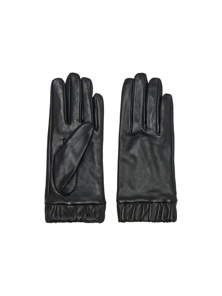 Only Leather Gloves Dana-Black