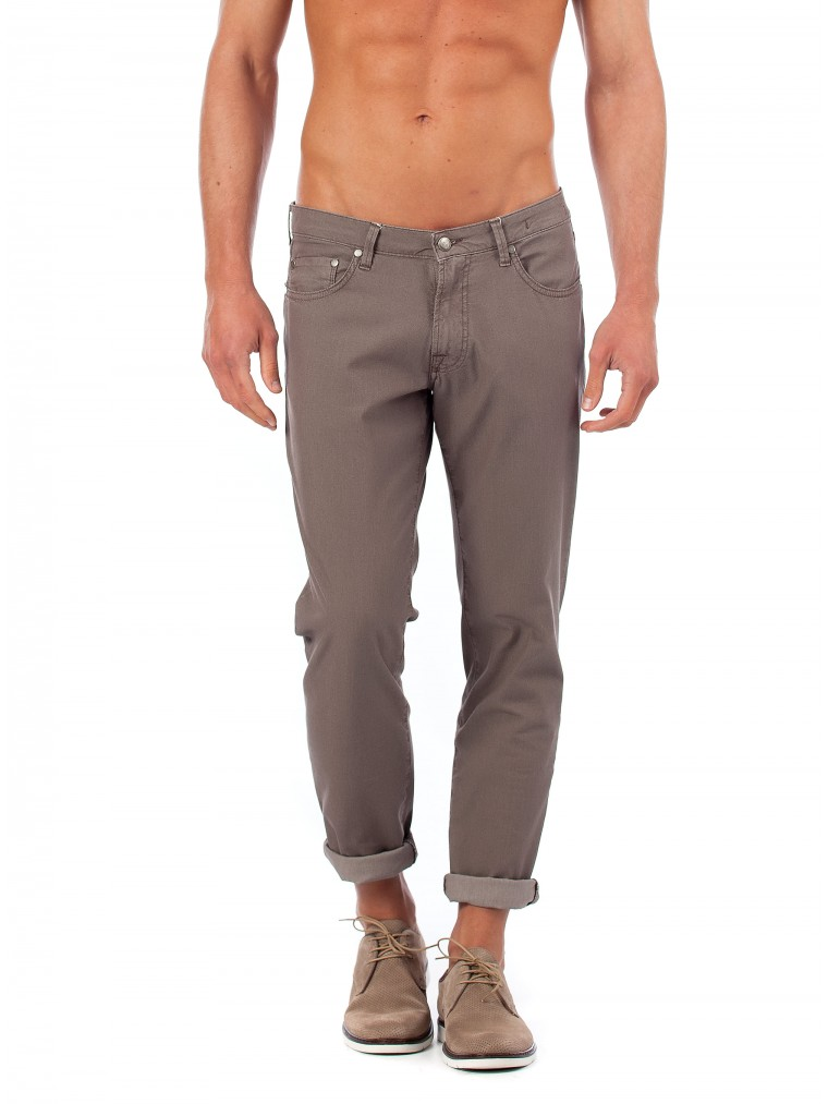 Four.ten Pants -Dark Beige