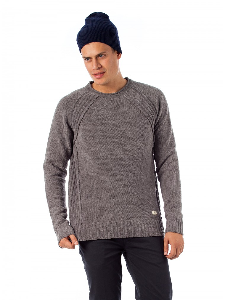 Premium By Jack & Jones Knit Darren-Grey