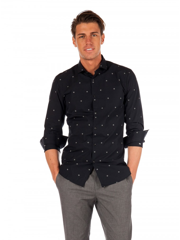 Hugo Shirt Erondo-Black