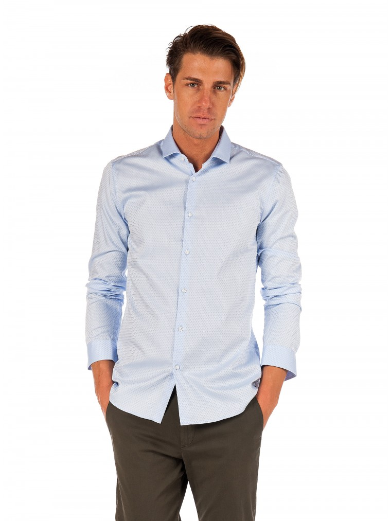 Hugo Shirt Erondo-Light Blue