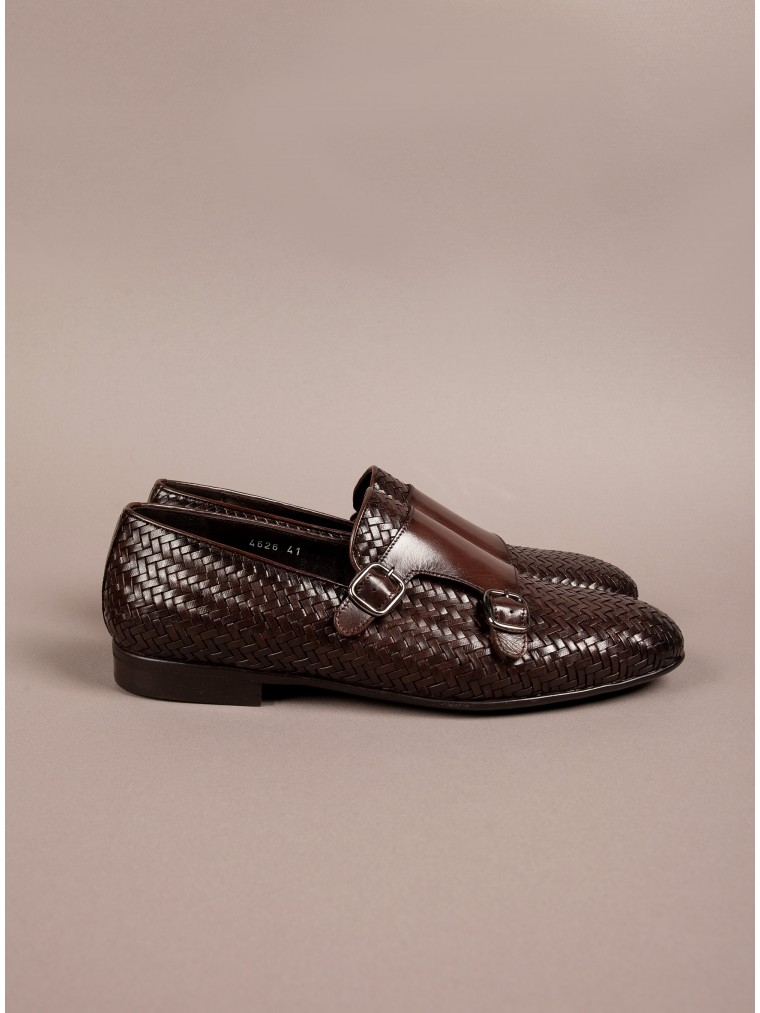 Per La Moda Shoes-Brown